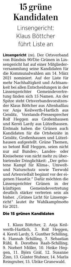 Gelnhäuser Neue Zeitung vom 09.12.2020