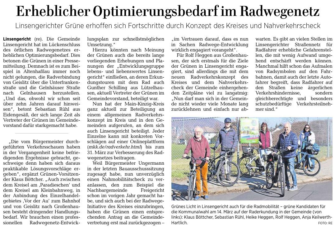 Gelnhäuser Neue Zeitung vom 06.03.2021